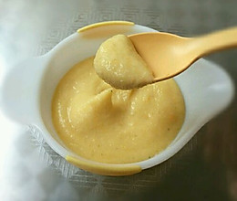宝宝最爱辅食:奶香玉米糊(成人、老人也可以哦)的做法