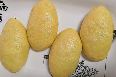 1:1的玉米面贴饼子