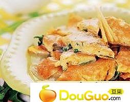韭菜蛋饼的做法