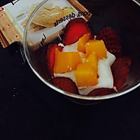 风情酸奶芒果慕斯杯的做法图解5
