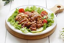 煎鸡腿肉-丘比沙拉汁日式口味的做法