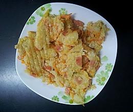 电饼铛米饭饼的做法