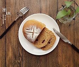 红糖蔓越莓全麦面包的做法