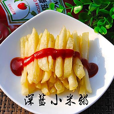 超简单炸薯条
