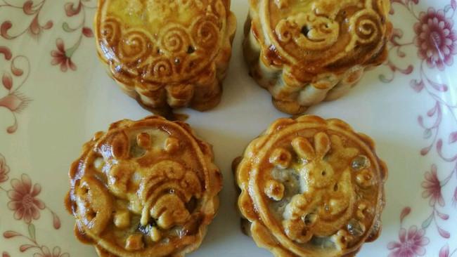 【爱美食的工作狂】改良版五仁月饼的做法
