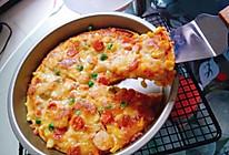 鲜虾培根火腿披萨的做法