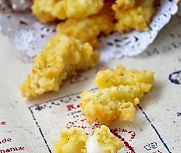 香酥鳕鱼块的做法