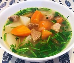 至简味醇、汤鲜肉美的清炖羊肉汤的做法