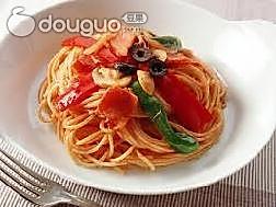 番茄浓汁面条的做法