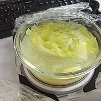 白菜粉丝汤的做法图解2