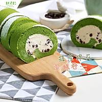抹茶棉花蛋糕卷#春天里的一抹绿#的做法图解23