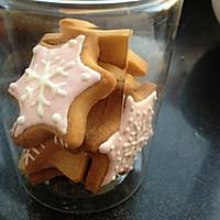 无黄油健康早餐饼干 圣诞糖霜饼干的做法图解5