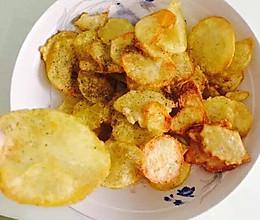 油炸土豆片薯片的做法