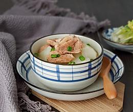 鸭脯肉萝卜汤的做法