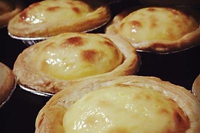 非常钟做蛋挞(后附蜜豆蛋挞和紫薯蛋挞做法)