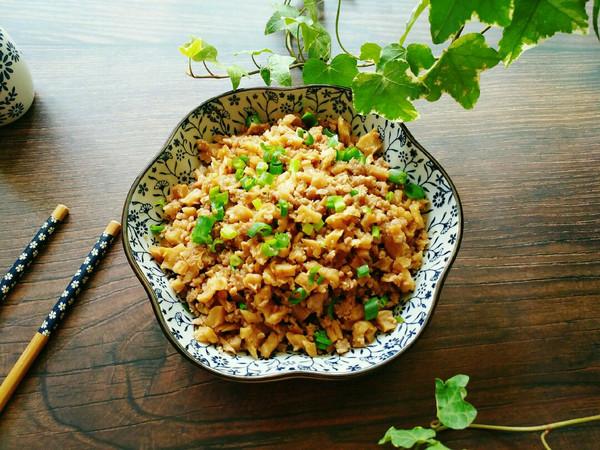 家常下饭菜~萝卜干炒肉末的做法