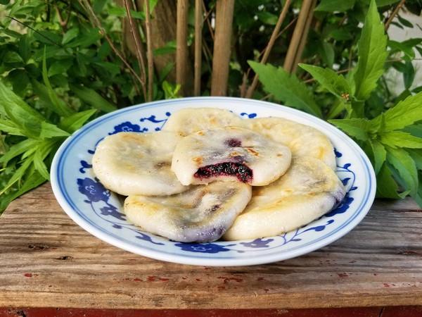 桑葚糯米饼的做法