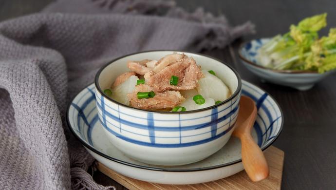 鸭脯肉萝卜汤