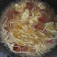 番茄鸡蛋汤面的做法图解12