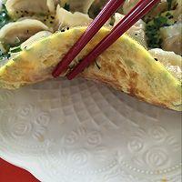 韭菜鸡蛋抱煎饺(附饺子包法)的做法图解23