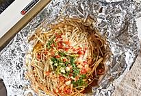 特色包烧金针菇的做法