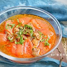 #快手又营养,我家的冬日必备菜品#番茄牛肉汤