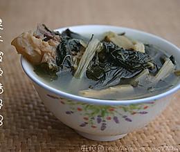 热咳、扁桃腺炎食疗汤水——菜干猪骨(猪肺)汤的做法