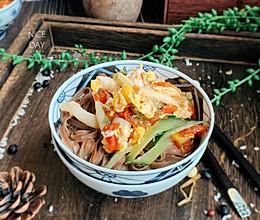 #秋天怎么吃#快手黑荞麦面的做法