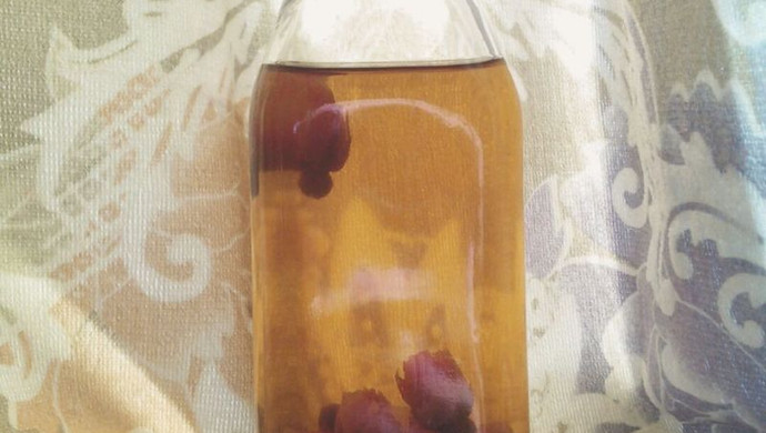 红糖玫瑰花茶