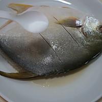 红烧鲳鱼的做法图解3