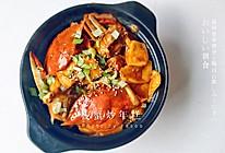 梭子蟹炒年糕-拿手私房菜分享的做法