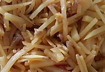 家常土豆丝的做法