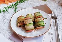 培根黄瓜卷#肉食者联盟#的做法