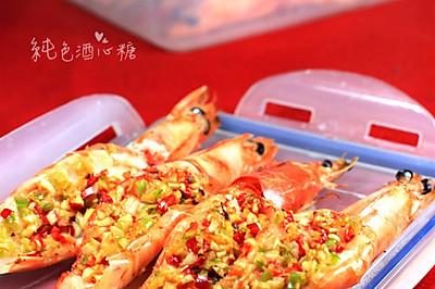 蒜蓉烤大虾
