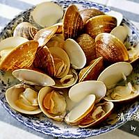 清蒸海贝(原汁原味,汤汁鲜美)的做法图解10