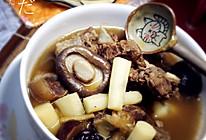 家常菜——山药桂圆羊肉煲的做法
