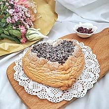 #520,美食撩动TA的心!#爱心蛋白舒芙蕾