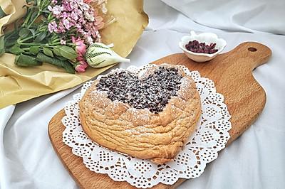 #520,美食撩動TA的心!#愛心蛋白舒芙蕾