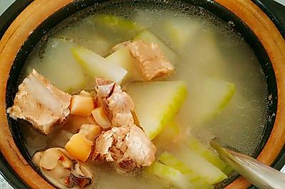 排骨瑶柱蚝豉冬瓜汤