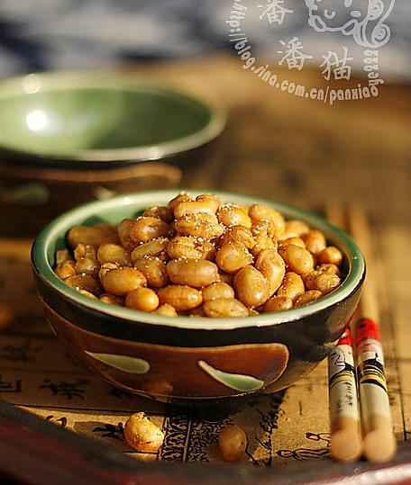 油酥黄豆的做法