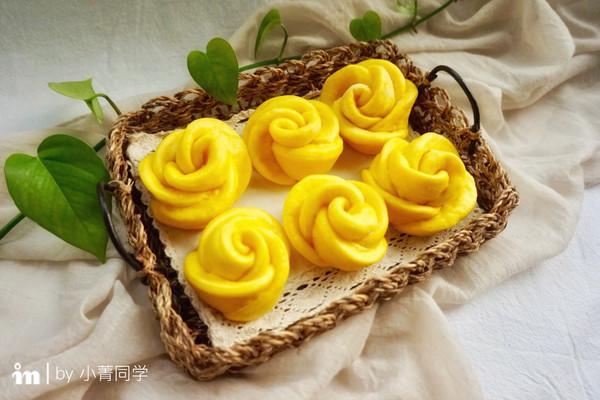 南瓜玫瑰花馒头#让爱不负好时光#的做法