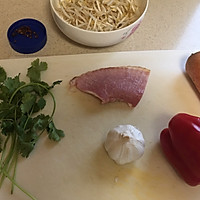 10分钟快手菜,花椒油凉拌五彩豆芽的做法图解1