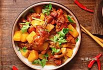 #餐桌上的春日限定#浓香下饭菜—红烧鸡肉炖土豆的做法