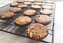 红糖核桃养生饼干的做法