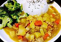 李孃孃爱厨房之一一鸡肉咖喱饭的做法