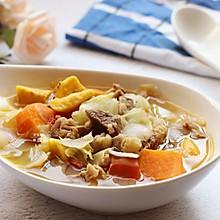 牛腩蔬菜汤