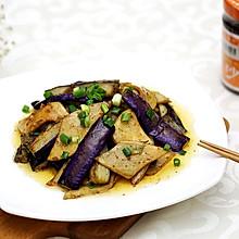 无肉也欢宜:沙茶香煎杏鲍菇炒茄子