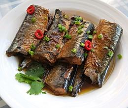 红烧秋刀鱼的做法