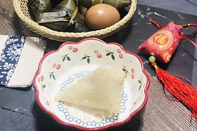 #甜粽VS咸粽,你是哪一党?# 白糯米粽—我的男盆友是白糖君
