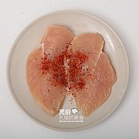 辣味鸡胸条的做法图解2
